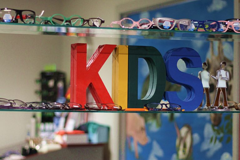 Kids eyewear available at Family Optometry's Huntington IN location