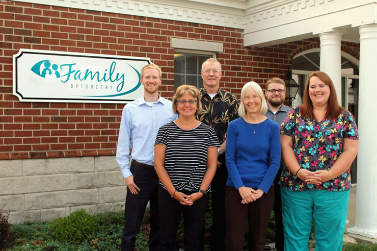 Family Optometry Huntington Team